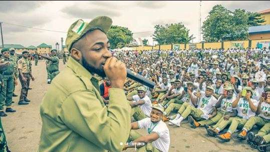 Davido Cancels US Tour due to National Service Commitments