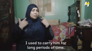 TOUCHING VIDEO: This Woman has been carrying her sick husband on her back for 5 years