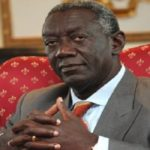Former President Kufuor collapsed 'Concert party' – Actor