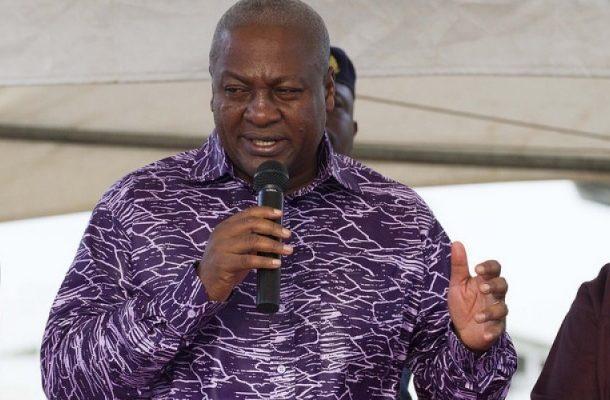 I'll campaign in SHSs; come and arrest me -  Mahama dares Akufo-Addo