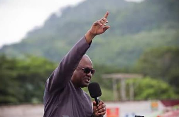 """Don't let NPP """"crush your testicles twice"""" – Mahama to Ghanaians"""