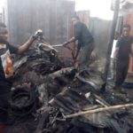 A/R: Fire destroys 50 stalls at K'si Central Market