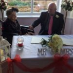 100-year-old woman marries 74-year-old partner after 30 years