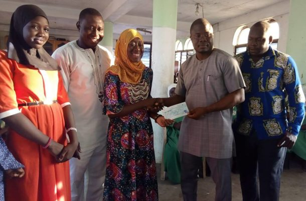 Ayawaso North MP donates to support  Girl Child education