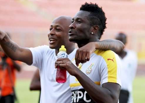 Asamoah Gyan speaks on relationship with Andre Ayew