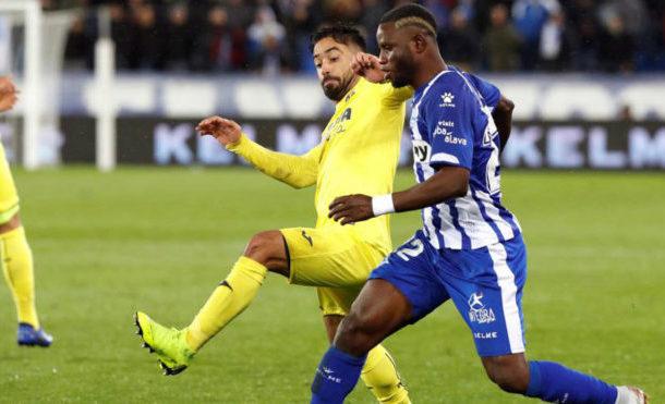 Alaves midfielder Mubarak Wakaso a doubt for Girona clash after shoulder injury against Villareal