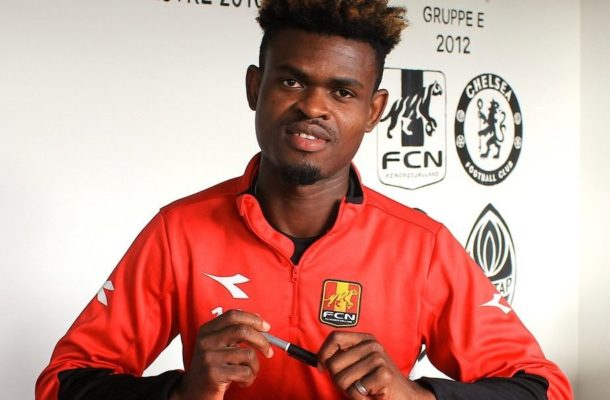 VIDEO: Godway Donyoh delighted after penning new Nordsjælland contract
