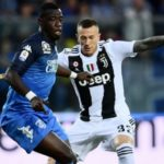 Afriyie Acquah plays full throttle in Empoli's defeat to Juventus