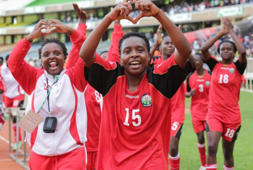 Harambee Starlets sets bar high, targets World Cup qualification