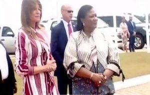 VIDEO: Melania Trump arrives in Ghana