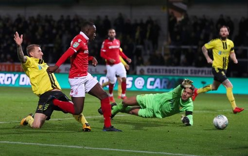 Ghanaian prodigy Arvin Appiah scores on senior debut for Nottingham Forest