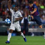 Kwadwo Asamoah features as Messi-less Barcelona ease past Inter Milan