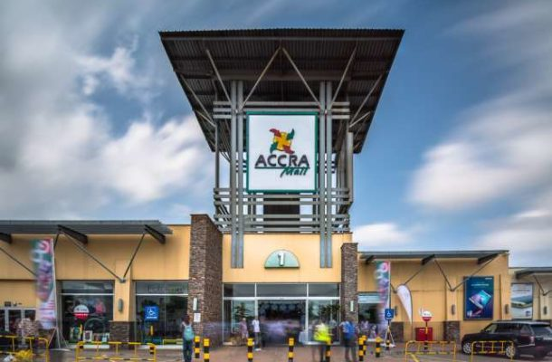 BREAKING NEWS: Part of Accra Mall collapses