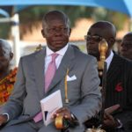 Asantehene storms KNUST; inspects damage on campus after last week riot