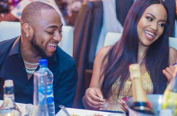 VIDEO: Watch the beautiful moment Davido brought Girlfriend, Chioma on stage at his concert