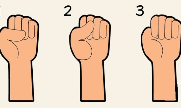 The way you make a fist says a lot about your personality