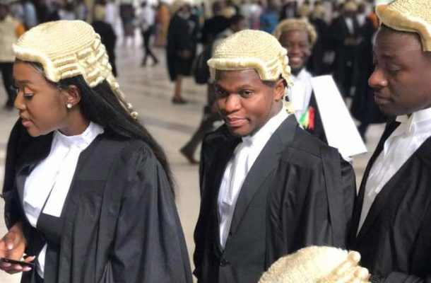 PHOTOS: NDC's Sammy Gyamfi called to the bar