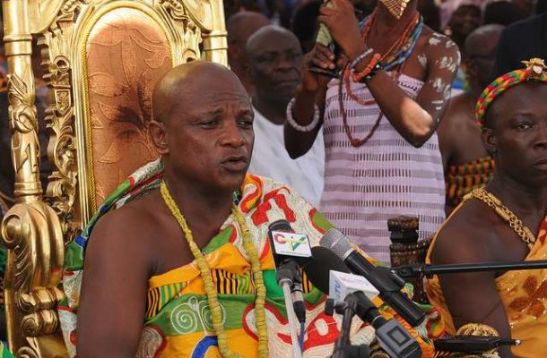Togbe Afede denies any link to fake statement condemning Mahama