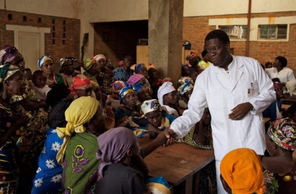"Congolese Renowned ""Rape Surgeon"" Denis Mukwege wins the Nobel Peace Prize"