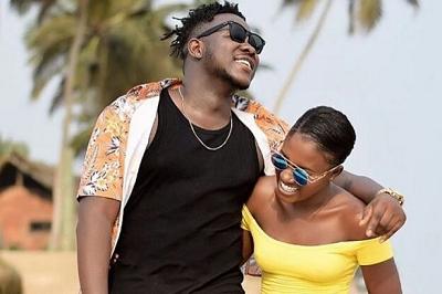 VIDEO: Fella Makafui surprises Medikal on Valentine's Day