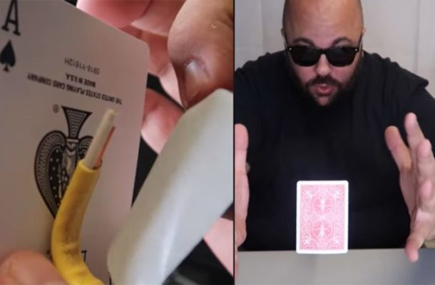 Video: Crack leak! This man shows the truth of magic missing
