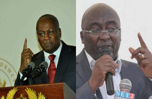 "Bawumia is not ""matured"" — Mahama fires back"