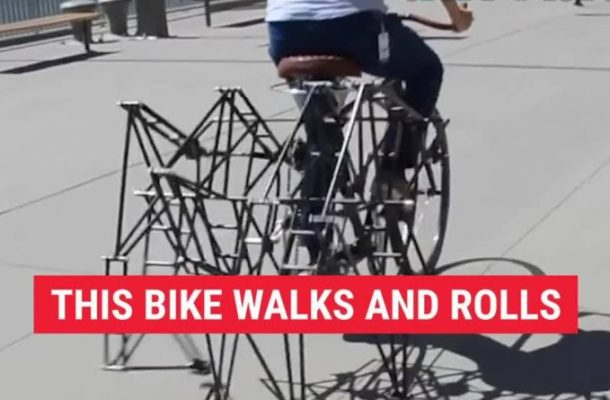 Video: Super-tires to the top are to walk like snakes!