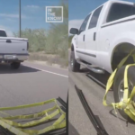 Video: Amazing! The new way to catch the robbers on wheels