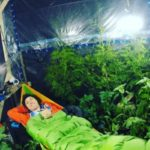 Man lives in air-tight tent with 200 plants to see if they could provide enough oxygen for him