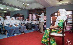 Samira Bawumia talks sexual violence with Muslim girls