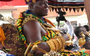 Otumfuo pours heart out