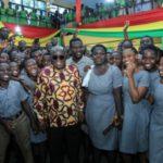 Free SHS working – Akufo-Addo