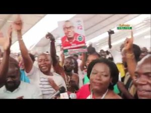 "VIDEO: NDC Congress: Oye Lithur dances to Shatta's ""I know my level"""