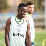 Ghana international Emmanuel Boateng returns to Levante training ahead of Huesca clash