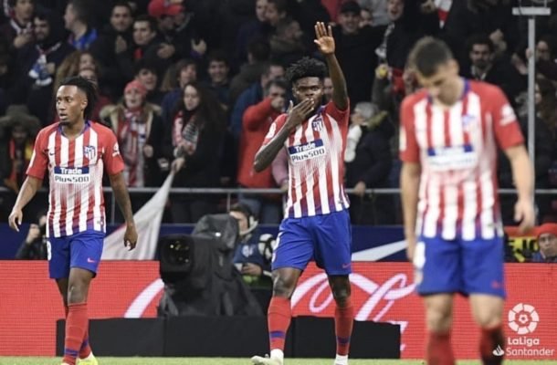 Partey scores, assists in Atlético's 3-2 win over Athletic Bilbao