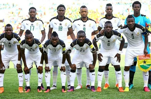 Kwesi Appiah names starting lineup to face Ethiopia: Jordan and Andre start, Gyan benched