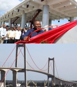 New Bridge Spans Mozambique Capital Maputo (PHOTOS)
