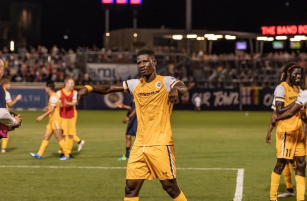 Nashville SC activate option to sign Ghanaian forward Ropapa Mensah on a permanent deal