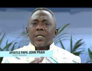 VIDEO: Apostle John Prah warns Nayas over fake marriage; demands apology