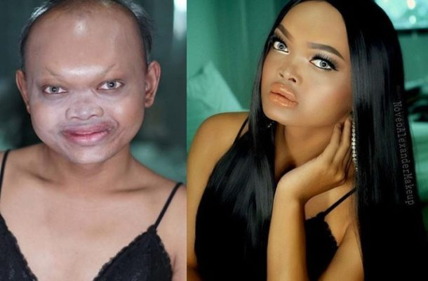 PHOTOS: Woman's makeup transformation is so extreme it will leave you speechless