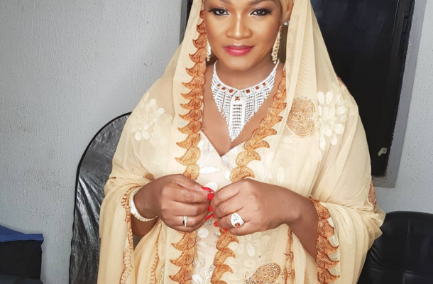 Nigerian actress Omotola Jalade reveals she was born a muslim; preaches religious tolerance