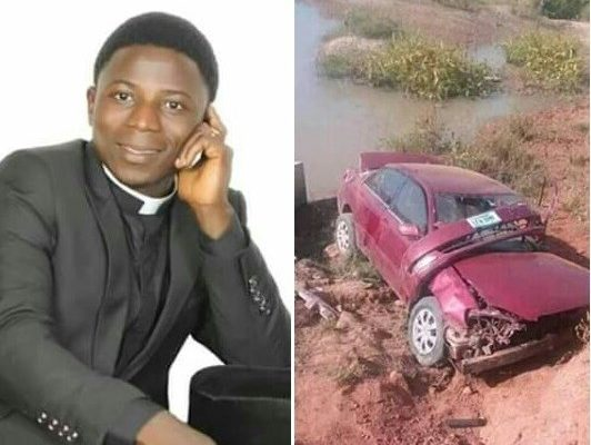 PHOTOS: Young Catholic priest dies in ghastly accident 3 days after celebrating first ordination anniversary