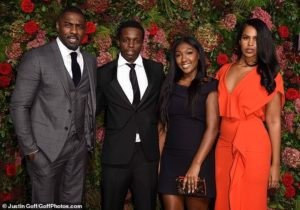 PHOTOS: Idris Elba attends the Evening Standard Theatre Awards 2018 with his stunning fiancée and daughter