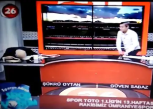 SHOCKING VIDEO: TV presenter collapses as he suffers heart attack live on air