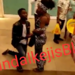 VIDEO: Man publicly humiliates his girlfriend with a fake proposal at Shoprite