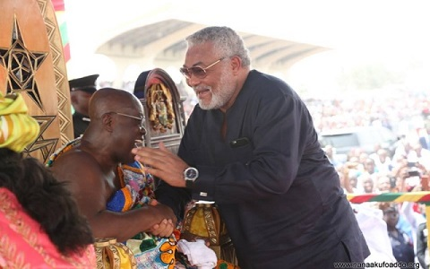 I respect Akufo-Addo for his values, principles – Rawlings