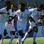 Jonathan Mensah congratulates Black Maidens over Finland victory