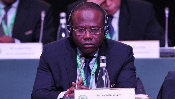 GFA to cough up Nyantakyi's GHC 2.4 million FIFA fine if he defaults