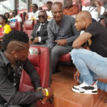 Gyan, Ayew spotted at Queens vs Mali game