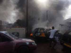 VIDEO: Gas filling station explodes at Krofrom in Kumasi